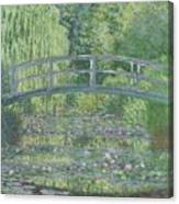 The Waterlily Pond Canvas Print