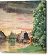 The Watermill Canvas Print