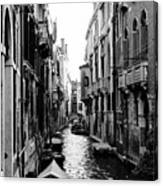 The Waterways Of Venice Canvas Print