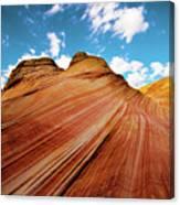 The Wave Arizona Rocks Canvas Print