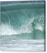 The Wave De Canvas Print