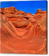 The Wave Panorama - X Canvas Print