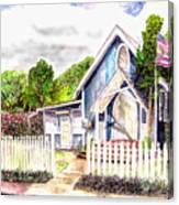 The Way Inn Canvas Print