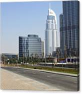 The Way To Dubai Canvas Print