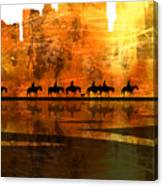 The Weary Journey Canvas Print