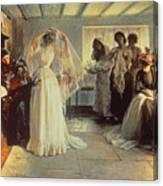 The Wedding Morning Canvas Print