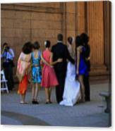 The Wedding Party Detail Canvas Print