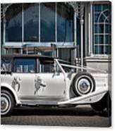 The Weddingmobile Canvas Print