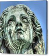 The Weeping Sculpture Canvas Print