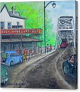 The West End Carryout At The Bridge Canvas Print