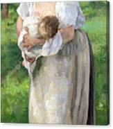The Wet Nurse Canvas Print