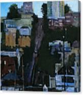 The Wharf Canvas Print