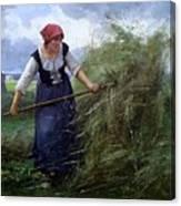The Wheatfield Canvas Print