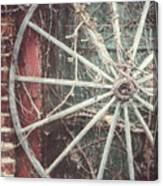 The Wheel And The Ivy Canvas Print