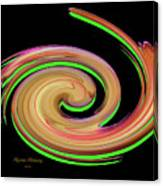 The Whirl Of Life, W13.1b Canvas Print