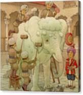 The White Elephant 02 Canvas Print