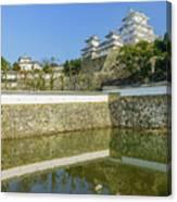 The White Heron Castle - Himeji Canvas Print
