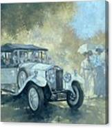 The White Tourer Canvas Print