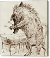 The Wild Boar Canvas Print