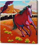The Wild One - Mustang Canvas Print