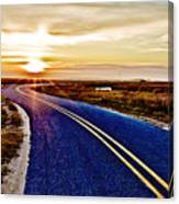 The Winding Road Canvas Print
