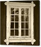 The Window 2 Canvas Print