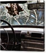 The Windshield  Canvas Print