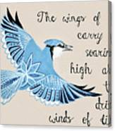 The Wings Of Hope Canvas Print