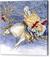 The Winter Changeling Canvas Print