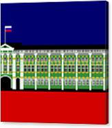 The Winter Palace Inspiration St Petersburg Russia Canvas Print