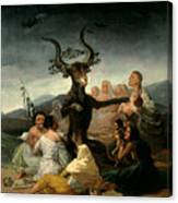 The Witches' Sabbath Canvas Print