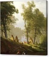 The Wolf River - Kansas Canvas Print