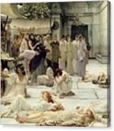The Women Of Amphissa Canvas Print