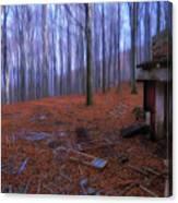 The Wood A La Magritte - Il Bosco A La Magritte Canvas Print