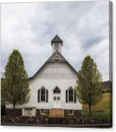 The Woodrow Union Church In Paw Paw West Virginia Canvas Print