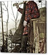 The Woodsman Canvas Print