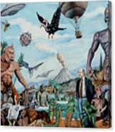 The World Of Ray Harryhausen Canvas Print