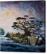 The Worldsaver Canvas Print