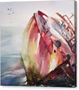 The Wreck Canvas Print