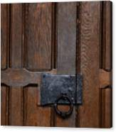 The Wrought Iron Handle Canvas Print