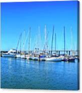 The Yacht Club Canvas Print