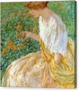 The Yellow Flower 1908 Canvas Print