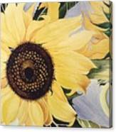 The Yellow  Canvas Print