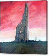 The Yellow Steeple Canvas Print