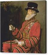 The Yeoman Of The Guard Canvas Print