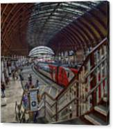 The York Train Station Canvas Print