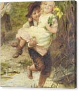 The Young Gallant Canvas Print