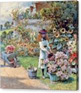 The Young Gardeners Canvas Print