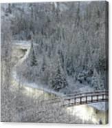 The Zen Of Bridge 5 Canvas Print