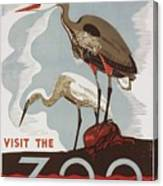 The Zoo Canvas Print